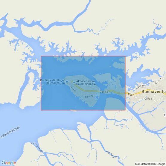 2319 Bahia De Buenaventura Admiralty Chart
