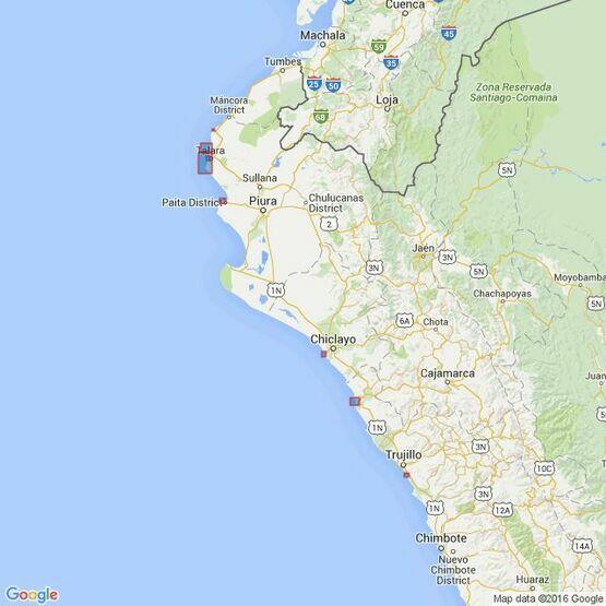3089 Ports on the Coast of Peru Admiralty Chart