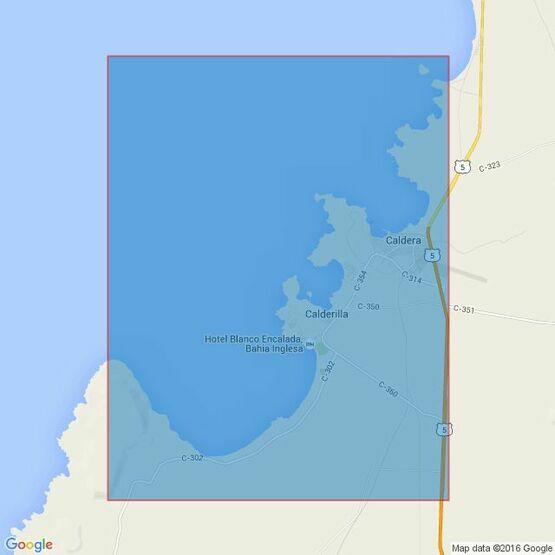 4231 Approaches to Puerto Caldera and Calderilla Admiralty Chart