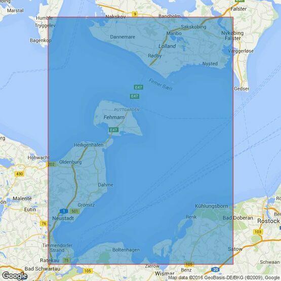 2117 Fehmarnbelt and Mecklenburger Bucht Admiralty Chart