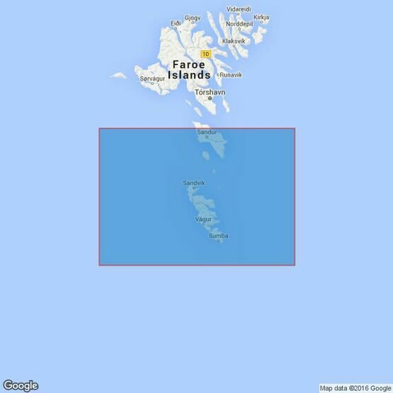3568 Foroyar (Faroe) Islands S Part. Admiralty Chart